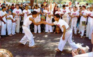 Roda de capoeira no Parque da Redenção, Porto Alegre, Brasil Credit: Ricardo André Frantz on Wikipedia