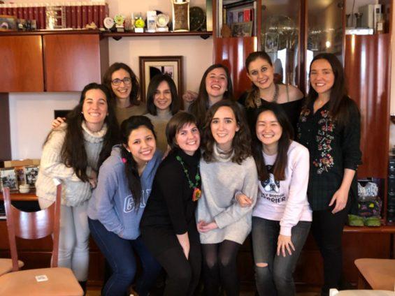 Cinzia & international Friends