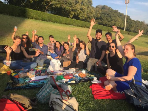 SPEAK picnic in Lisbon - learning a new language shouldn't be boring