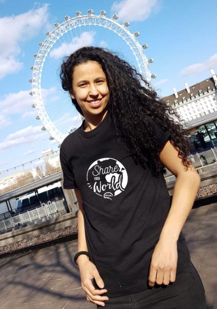 Ingrid, co-founder of SPEAK London