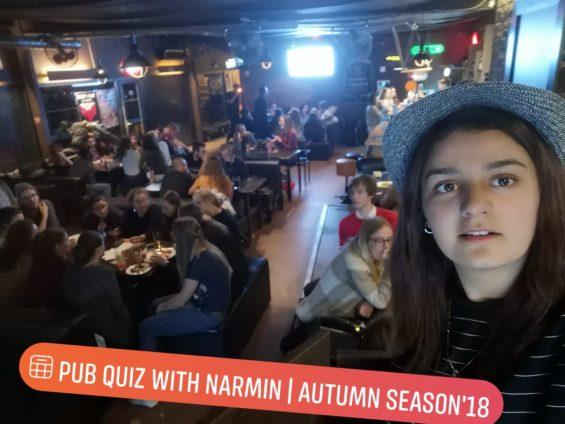 From SPEAK intern to founder of SPEAK Kaunas- Narmin Pub Quiz