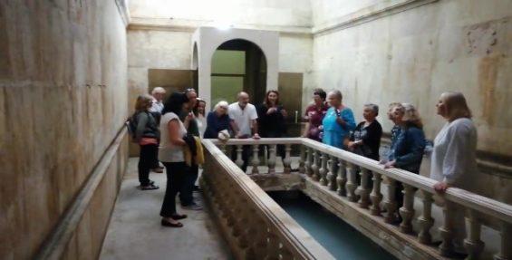 Cultural event in Thermal Hospital, in Caldas da Rainha, Portugal. Organized by SPEAK Caldas da Rainha