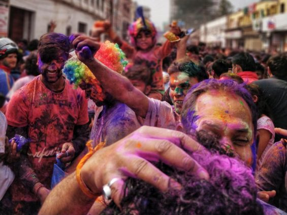 Learning about other cultures-Holi festival