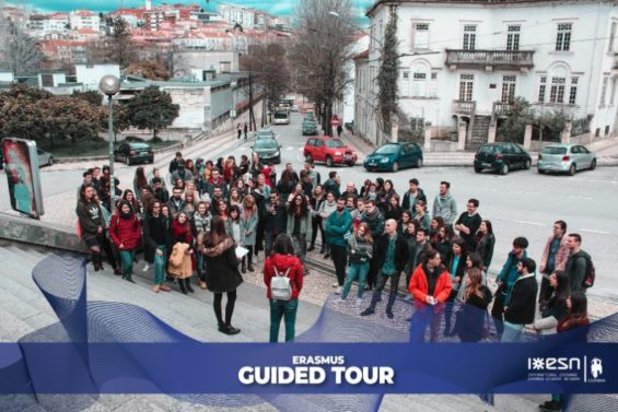 ESN Coimbra guided tour- SPEAK Coimbra has arrived