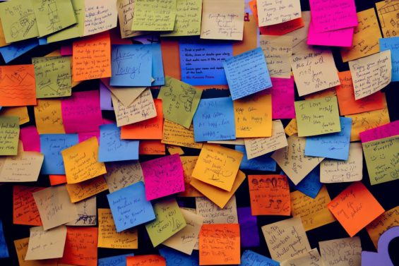 leave post it notes with vocabulary-fun ways to learn a language