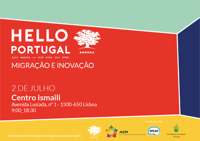 Hello Portugal Festival, an initiative about migration and integration- building a truly integrated society