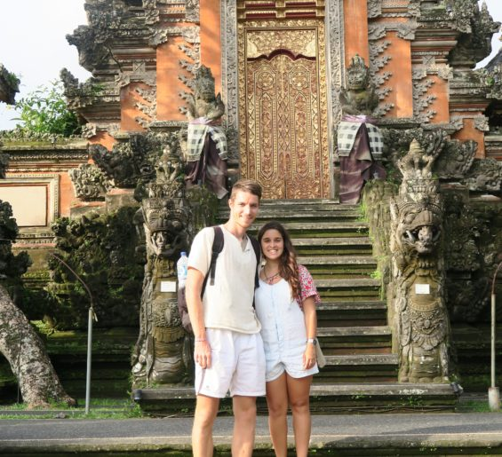 Patrícia and Mathieu, the founders of SPEAK Utrecht-SPEAK Netherlands, in Thailand.